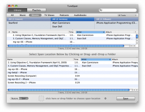 Splitting your iTunes library across multiple drives using TuneSpan