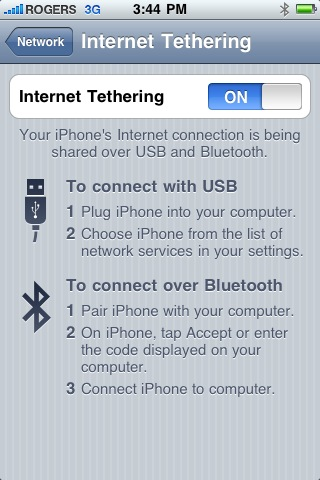 Thether that iPad to your iPhone and save on a dataplan?