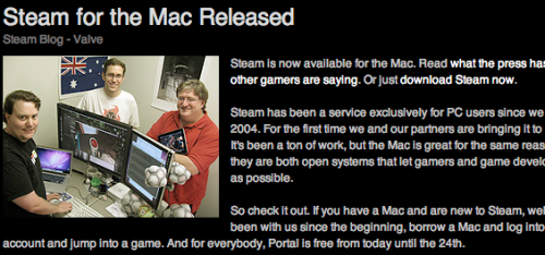 The Train has Stopped in Appletown! Steam Client Released.