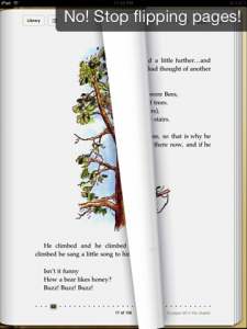 iBook page flip