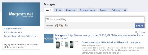 Macgasm on Facebook