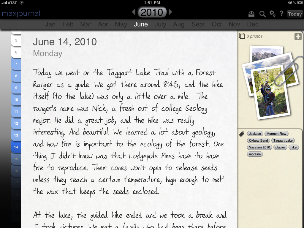 write a diary entry online