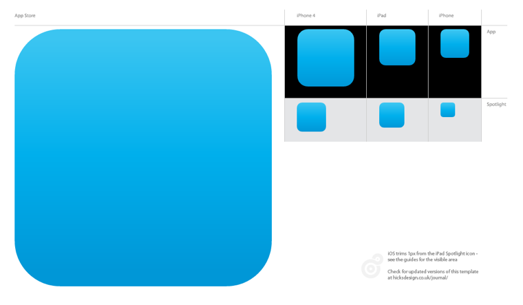 app store screenshot template - quick tip ios icon template for illustrator cs5 macgasm