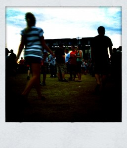 Camera+ Photo: Walking into the Weezer Show