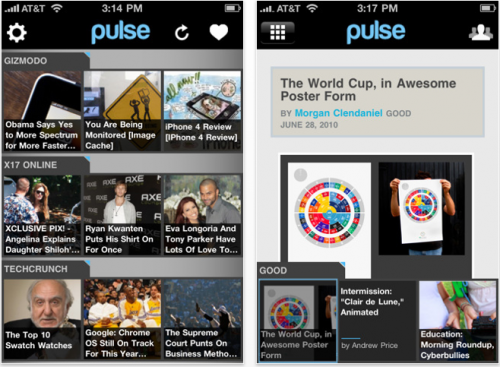 Pulse News Reader For iPhone