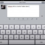 Compose tweet window