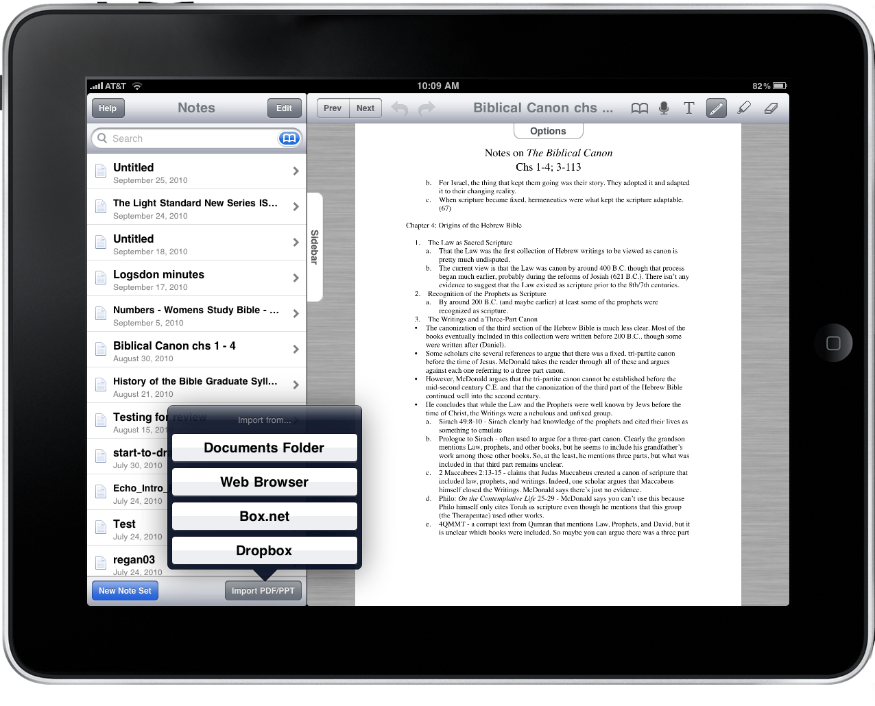 Noterize the all in one note taking and annotation system for when ccuart Images