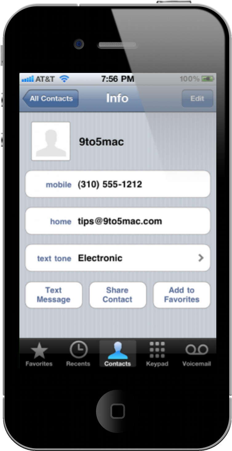 set custom sms tones in ios 4 2 for the iphone macgasm. Black Bedroom Furniture Sets. Home Design Ideas