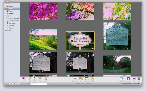 Genealogy on your Mac: Use iPhoto