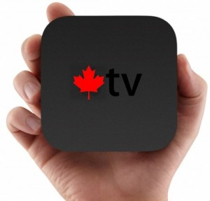 Clarifications on the Apple TV 2 in Canada