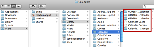 Q and A: iCal crashes on launch. How do I delete calendars?