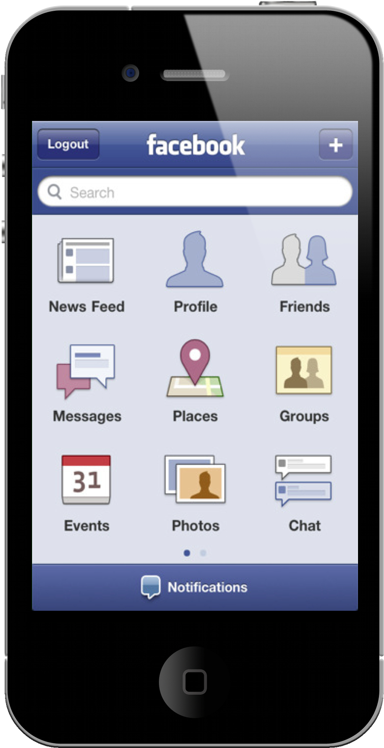 Facebook updates their iPhone application. It's now ...