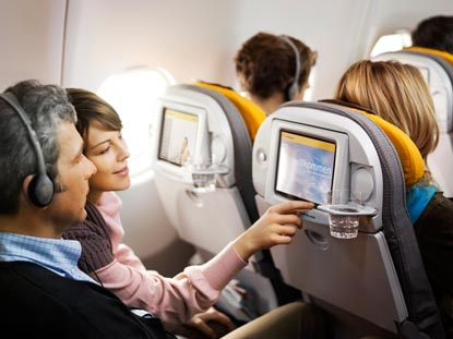 Lufthansa adds in flight wi fi for cross continent flights for Lufthansa direct flights to germany