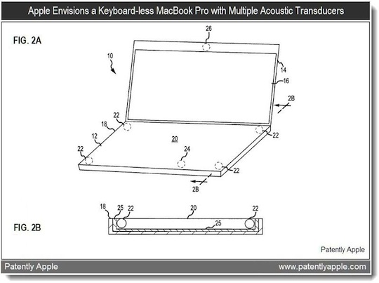 Apple declares war on keyboards with new acoustic patent