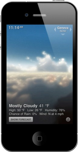 Weather HD Screenshot