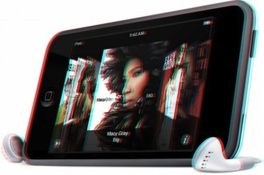 3D iOS device