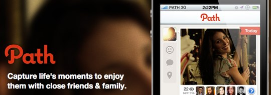 Forge your own Path with an iPhone app