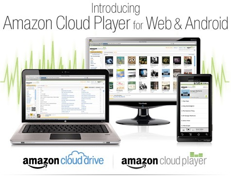 Amazon announces Cloud Player music streaming service