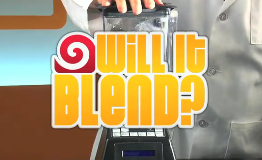 iPad 2, Will it Blend?