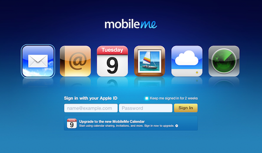 BREAKING: MobileMe email appears to be down for some