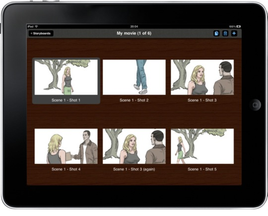 Create storyboards for your movie with Storyboards Premium