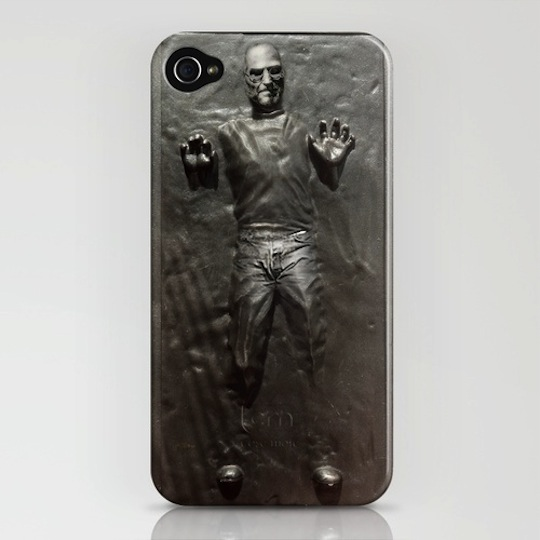 Steve Jobs gets the Han Solo carbonite treatment