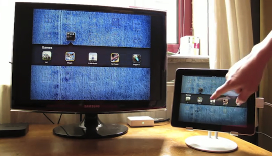 iPad 1 video mirroring