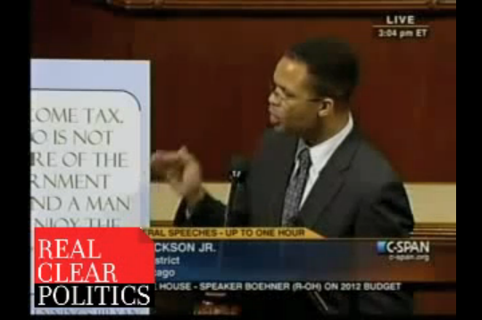 Jesse Jackson, Jr. Blames iPad for All of America's Problems.