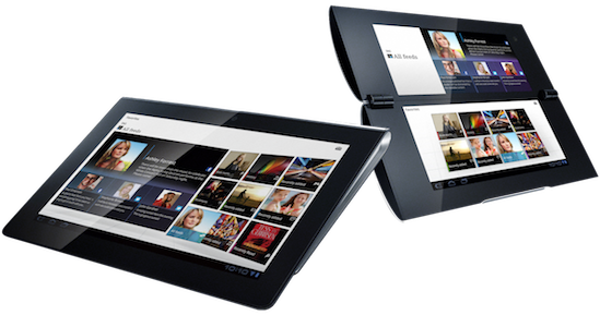 Sony S1 and S2 Tablet Images