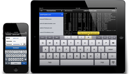 Panic brings SSH to the iPad and iPhone with Prompt