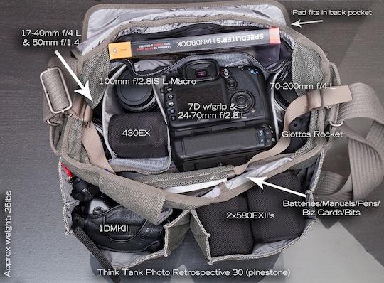 Think Tank Retrospective 30 Shoulder Bag 60