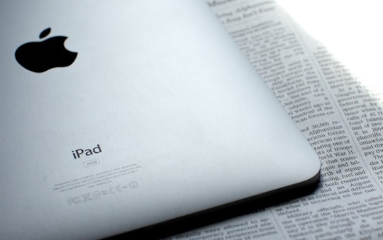 Apple donates first gen iPads to teachers in poor schools