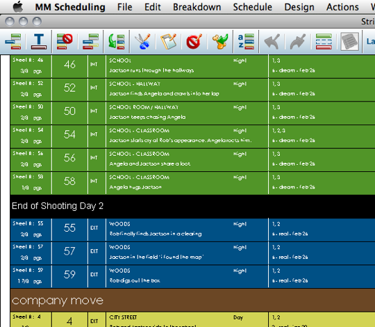 Pro Apps Come To Ios Sort Of Movie Magic Scheduling To Go For Ipad