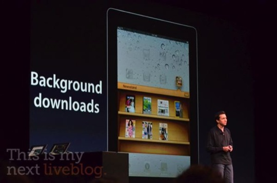 Apple announces Newsstand — direct line to news publishers from Apple