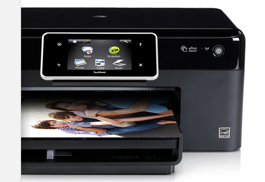HP Printer with AirPrint Enabled printer