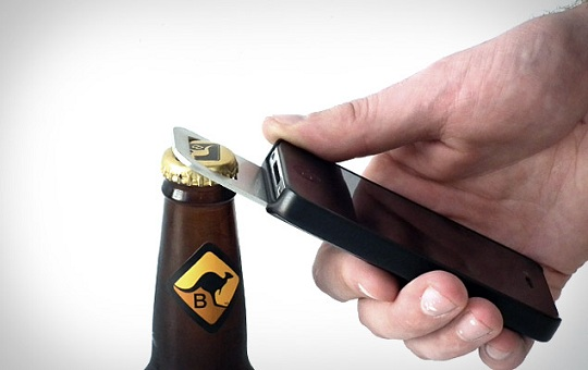 how to open a beer with a beer