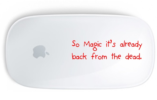 Magic Mouse is still with us