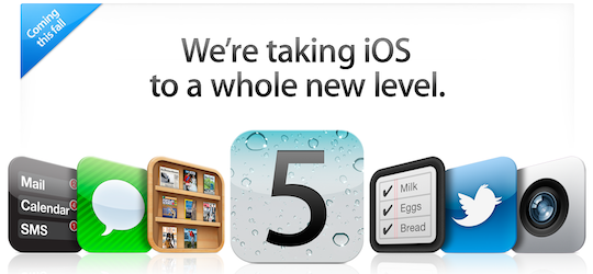 iOS 5 beta on track, iPhone 5 launch rumored for early October