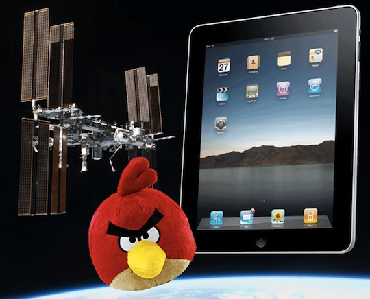 NASA to send Angry Birds to space, along with some iPads