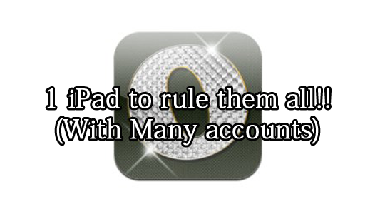 Our Pad lets you share your iPad without sharing user accounts