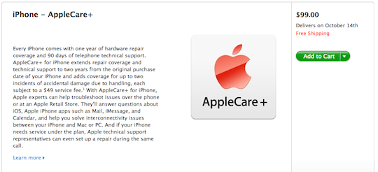 Apple introduces AppleCare+ for when your warranty just isnt good enough