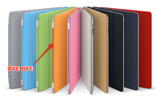 iPad 2 Smart Cover colors revised