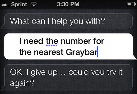 Editing Siri's interpretation