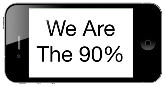 We are the 90%