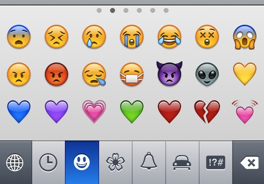 Turn on emoji emoticons in iOS 5 and amaze (or annoy) your friends