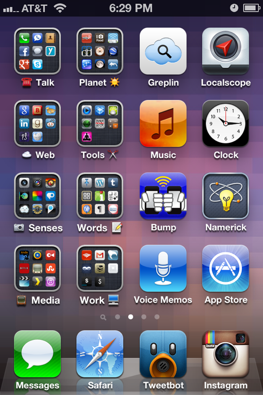 iphone home screen layout ideas how to arrange your iphone home screen to get things done 17656