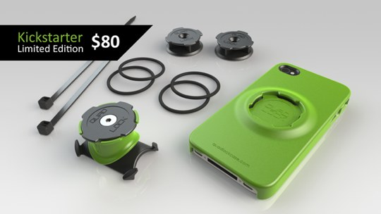 best sneakers e7020 d414a Check out this new iPhone case mounting system called Quad Lock
