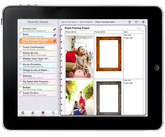 Microsoft onenote ipad app is available now macgasm