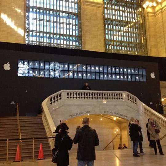 Grand Central Apple Store confirmed for December 9th