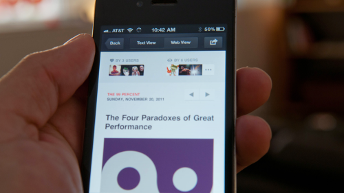 FLUD 2.0 hits Apple App Store, adds a social layer and personality to news reading